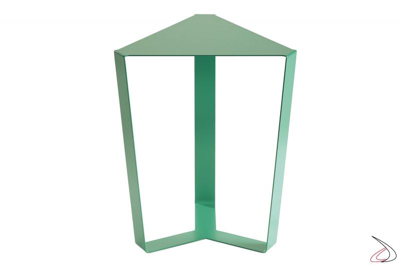Tavolino moderno da soggiorno in metallo verniciato