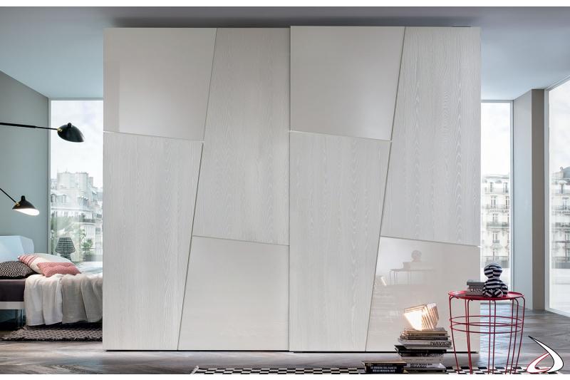 Armadio Ante Scorrevoli Laccato Bianco.Leviosa Wardrobe An Attractive And Modern Design Toparredi