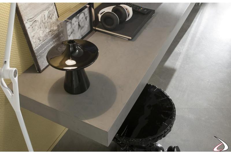 Mensola in pietra mobile soggiorno componibile