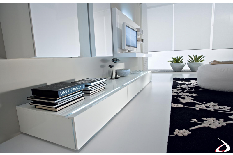 design wall system with folding doors