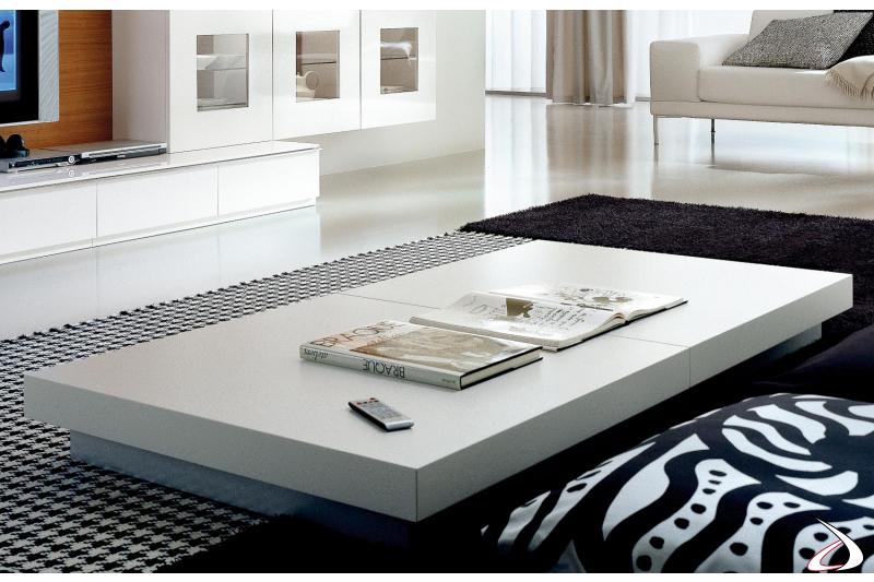 Tavolino quadrato da soggiorno