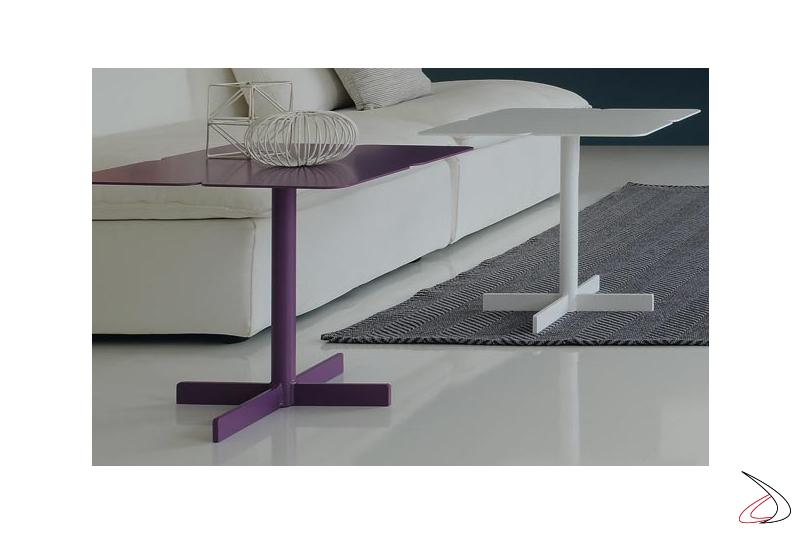 Modern living room square table