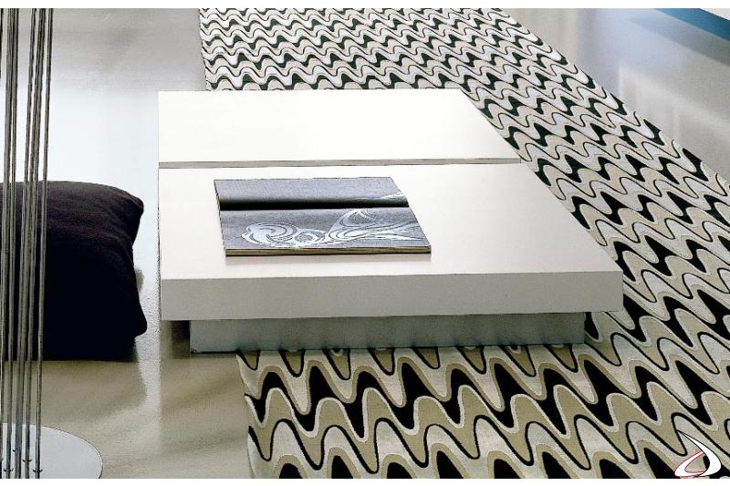 Tavolino moderno basso da salotto