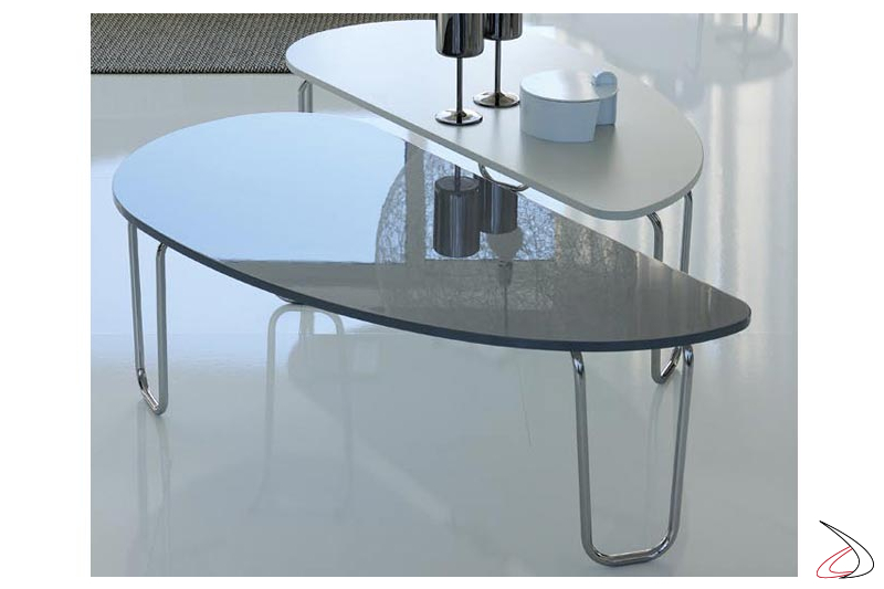Pacci Low Coffee Table For Living Room Toparredi