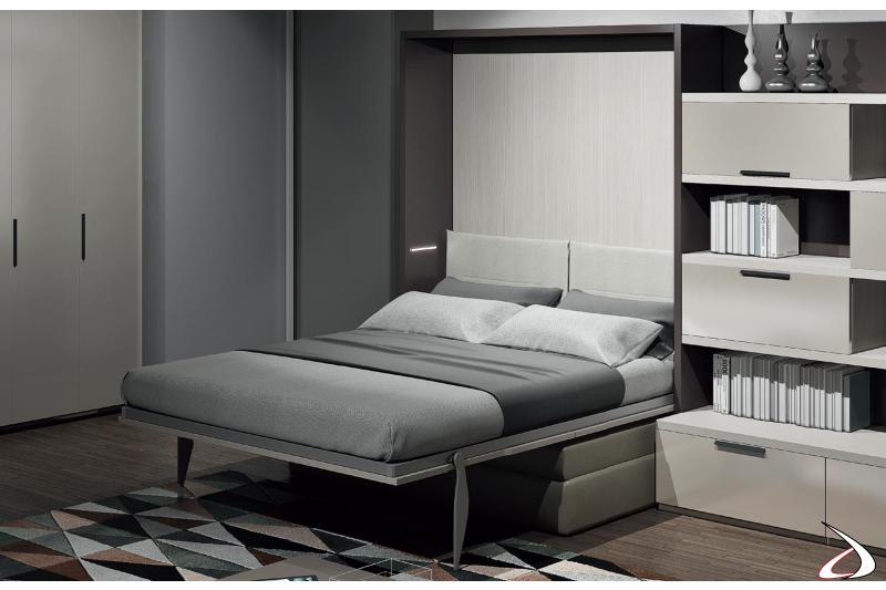 Letto trasformabile alla francese con divano