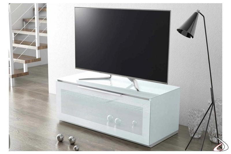 Mobile porta tv moderno bianco da soggiorno