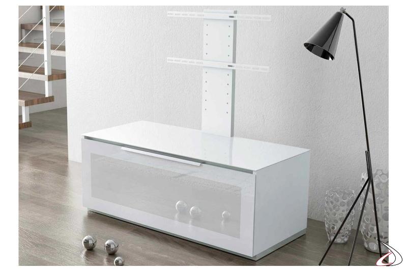 Mobile porta tv con colonna tv da soggiorno