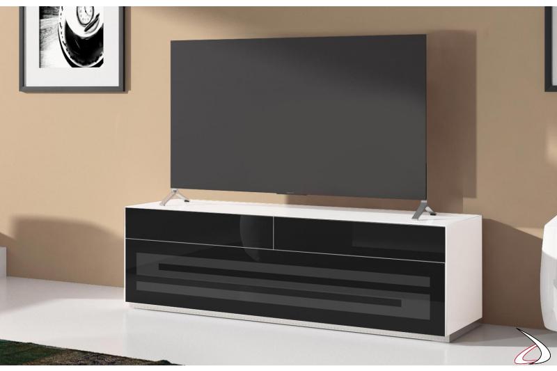Mobile porta tv di design con anta e cassetti