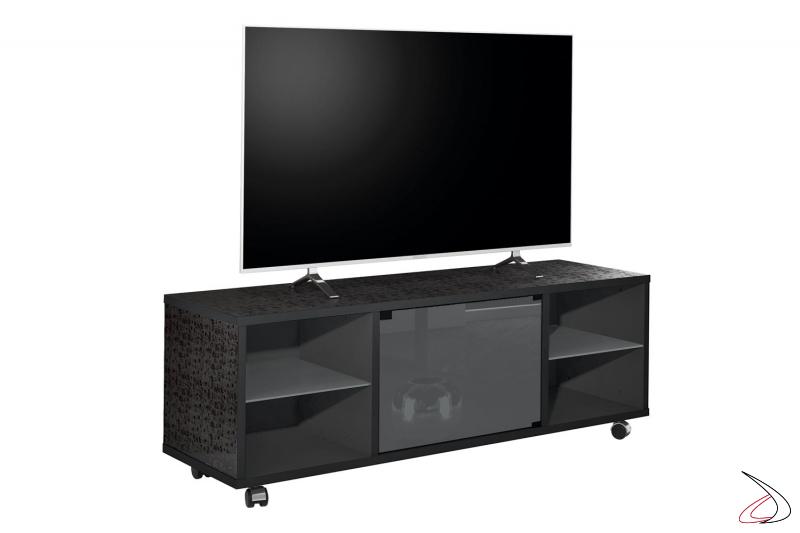 Porta tv da soggiorno su ruote
