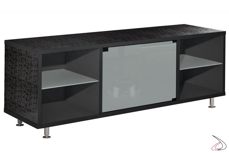 Porta televisore di design su piedini