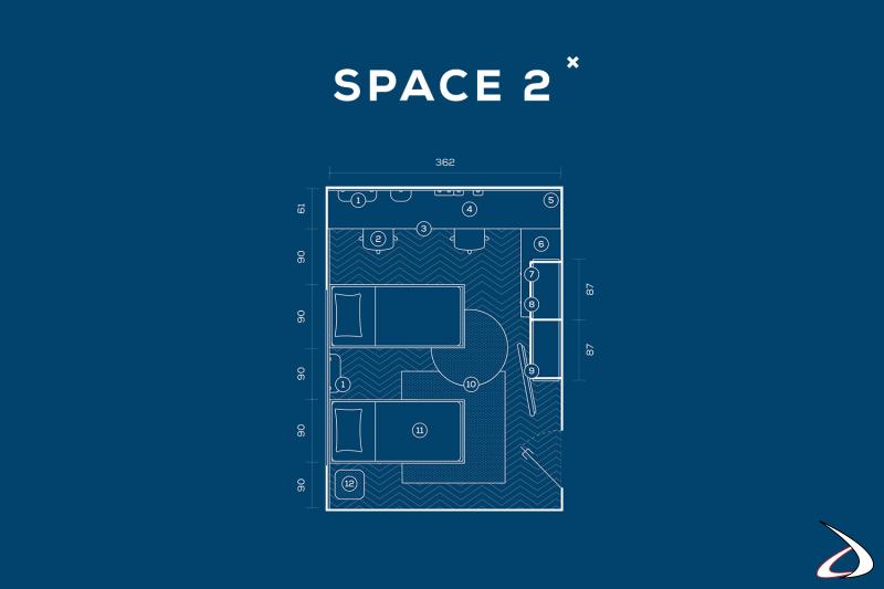 Dimensions de la chambre à coucher