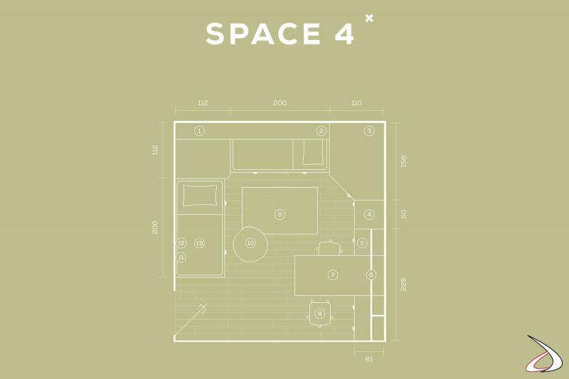 Dimensions de la chambre personnalisables