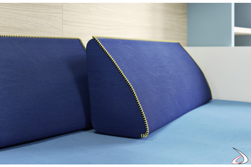 Cuscini schienale per divano letto