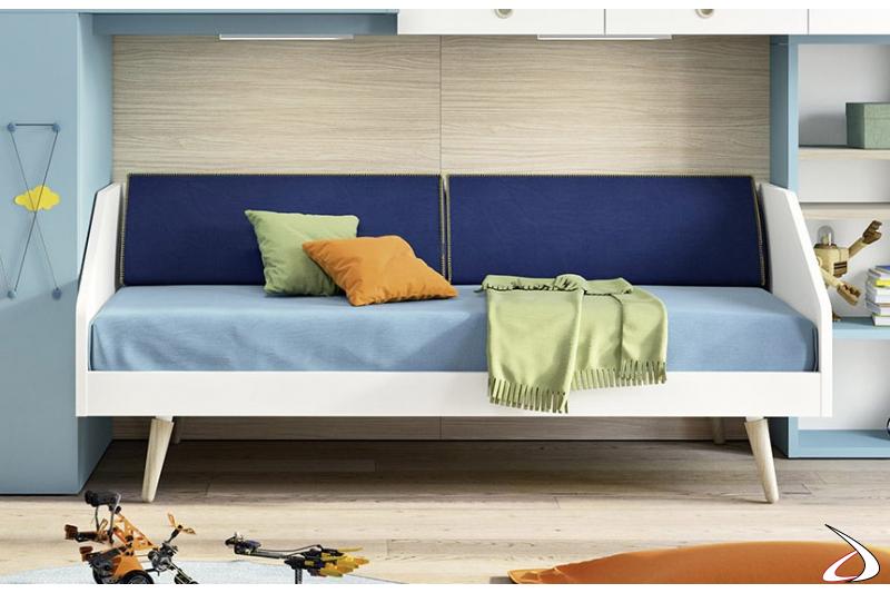 Divano letto moderno per camera ragazzi