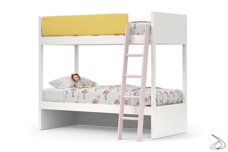 Letto a castello con doppio letto per cameretta bambine