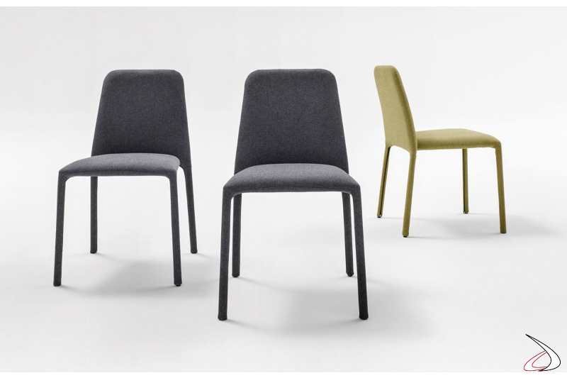 Sedie rivestita tessuto moderna da soggiorno