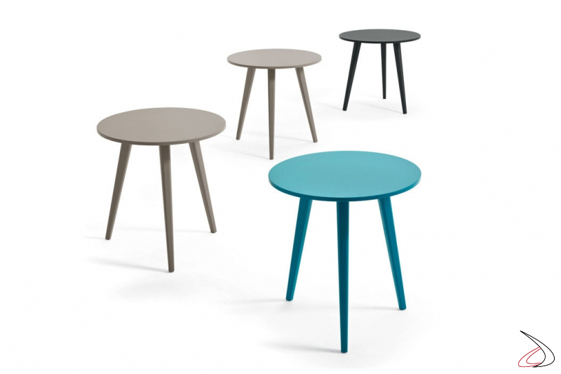 Tavolino alto moderno da soggiorno colorato