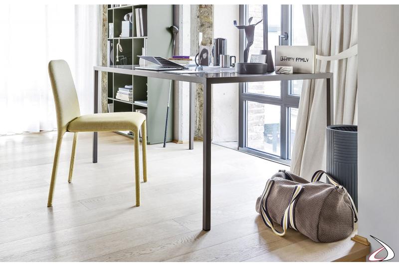 Tavolo moderno in ferro per ufficio in ferro