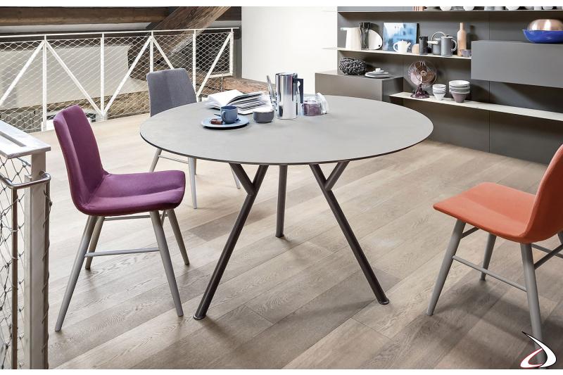 Sunny 4 Seater Round Design Table Toparredi