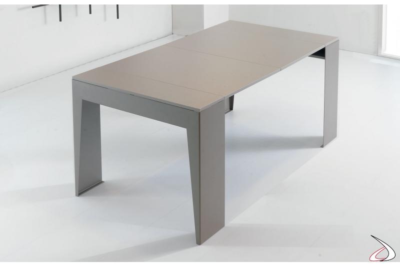 Tavolo consolle allungato da soggiorno