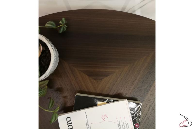 Tavolino Helice dalle finiture eleganti moderne e naturali