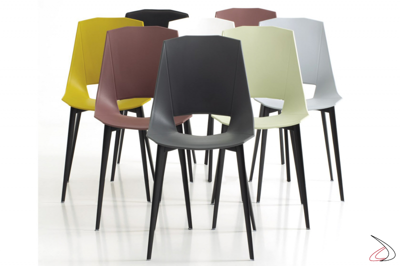 Aluminum Chair With Seat In Eva Leather 1 Toparredi