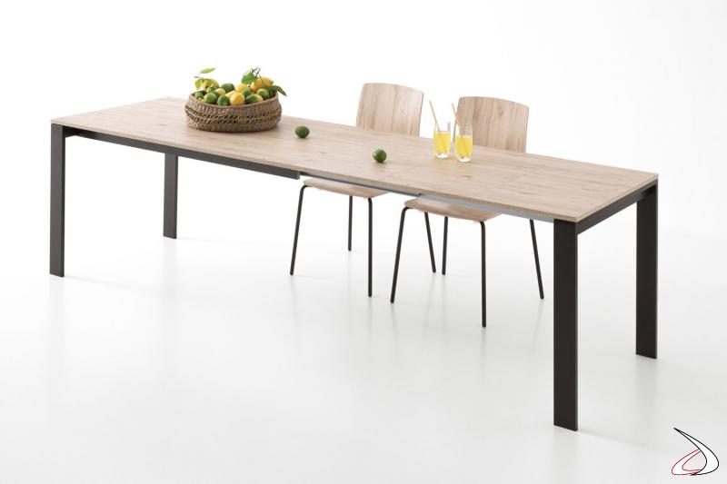Tavolo allungabile di design da soggiorno per 10 persone