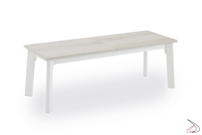 Panca senza schienale allungabile moderna per tavolo da pranzo