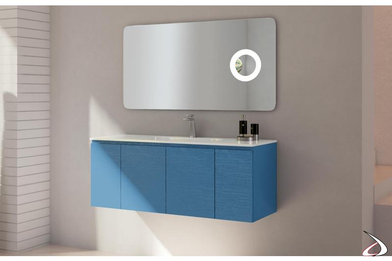 Mobile bagno moderno con specchiera