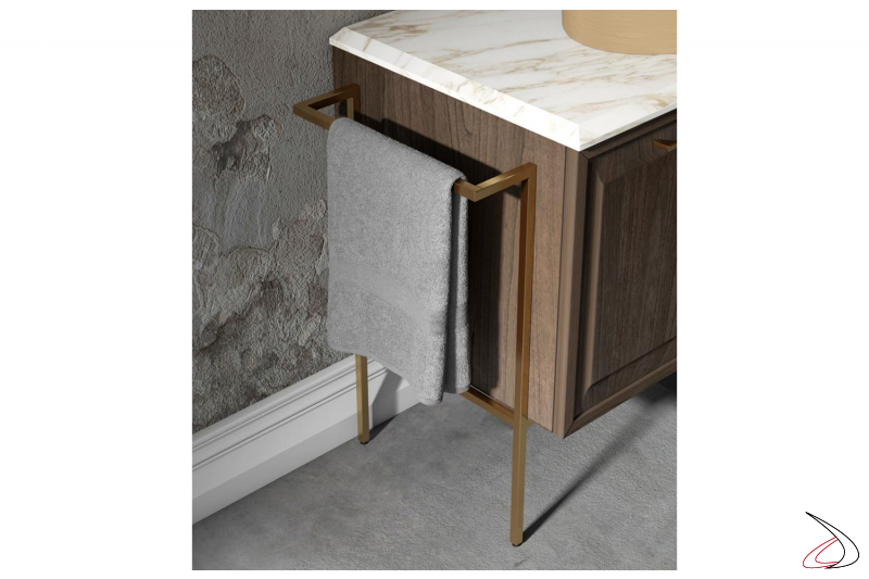Contemporary Etere Bathroom With Marble Top And Countertop Sink Toparredi