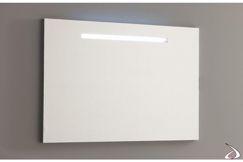 Specchiera bagno moderna con luce led integrata