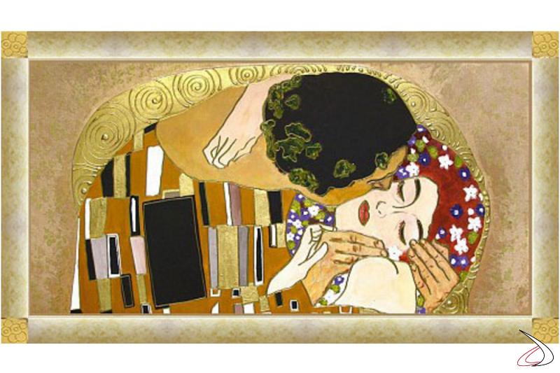 Il Bacio di Klimt oro