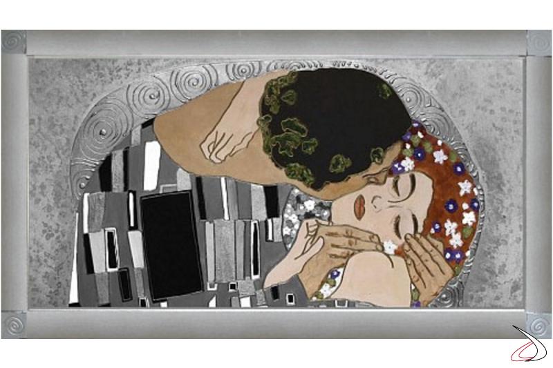 Il Bacio di Klimt argento