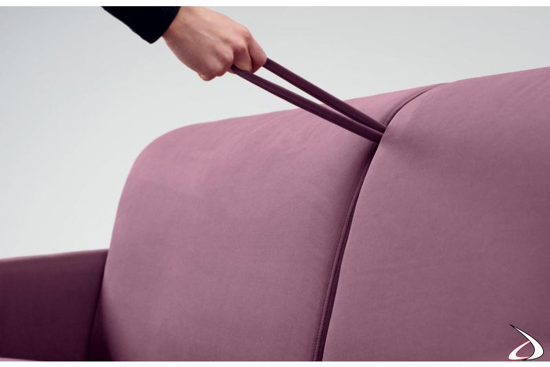 Maniglia per trasformare divano 2 posti in letto