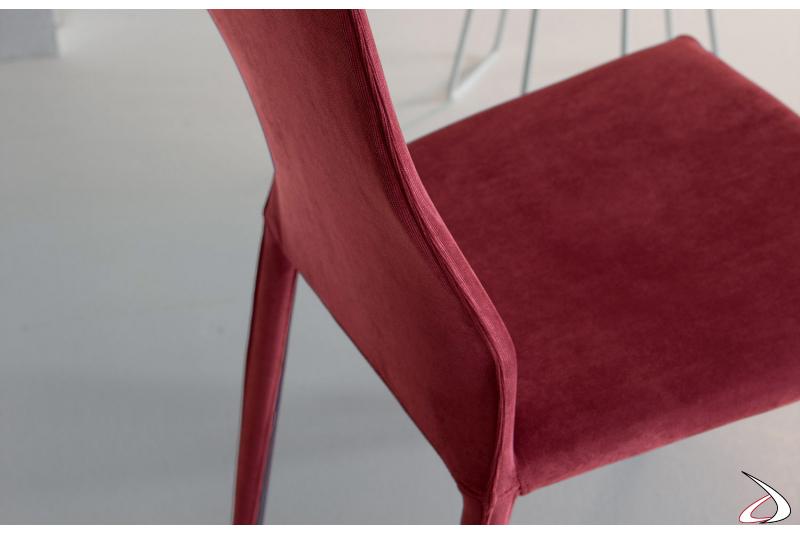 Sedia moderna per tavolo da soggiorno