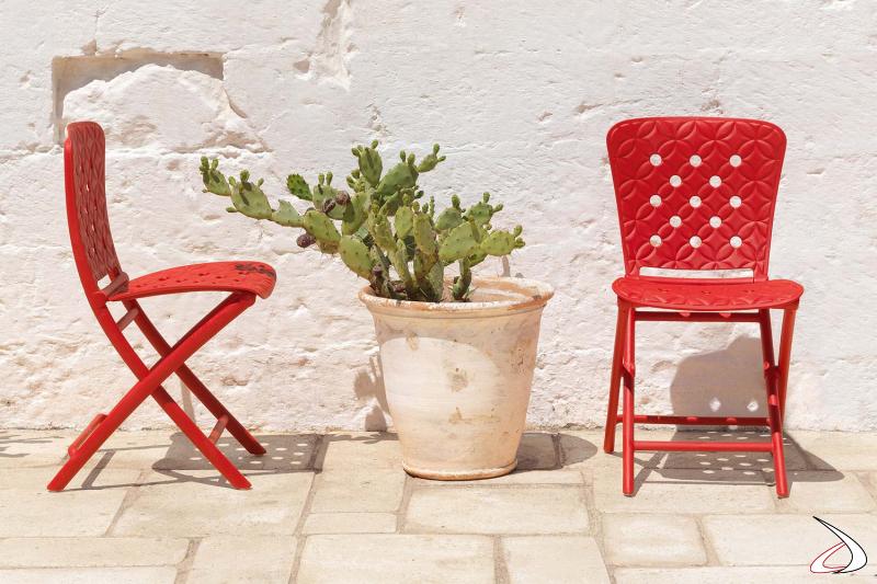 Sedie moderne Zac Spring