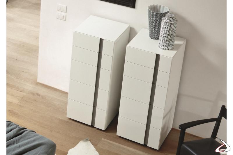 modern 5 drawers unit
