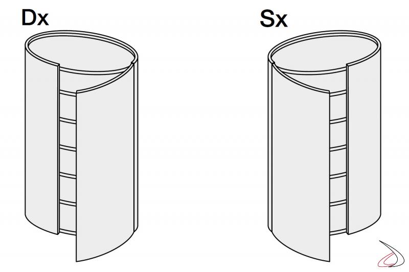modern round septet for the bedroom