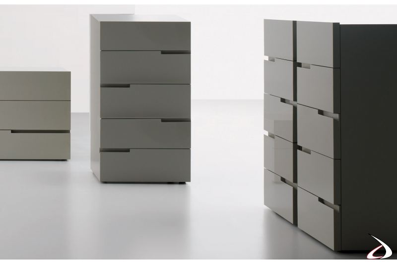 vertical storage unit 5 drawers