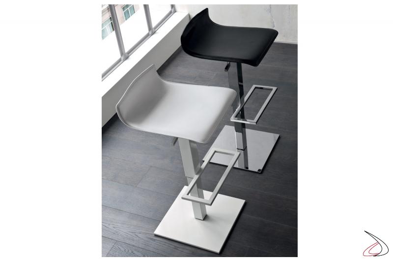 Sgabelli moderni regolabili in altezza da cucina e bar
