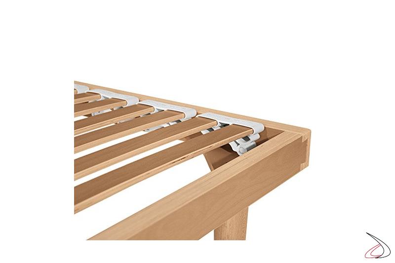 Dettaglio doghe in legno