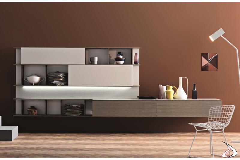 Ellex living room with LED