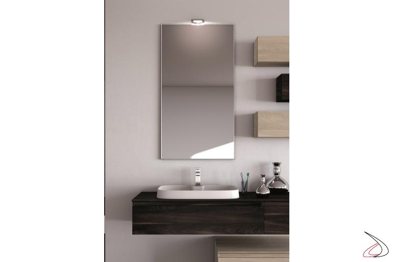 Washbasin is a modern bathroom