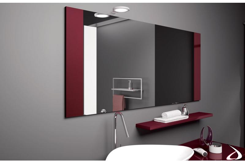 Specchiera moderna per arredo bagno