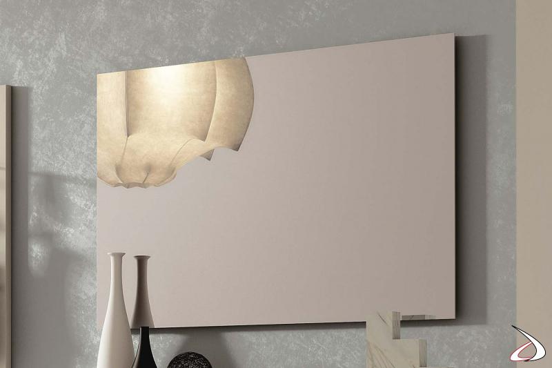 Specchio rettangolare moderno Garda 2