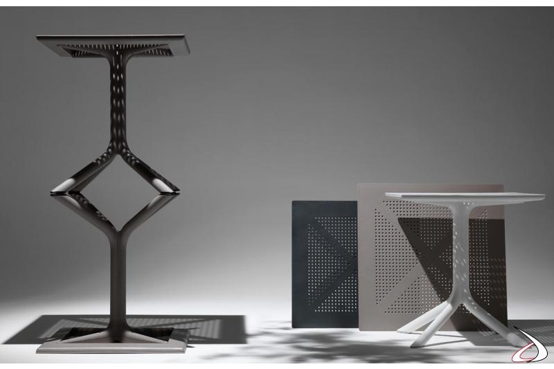 Tavolini modello Clip prodotti da NARDI