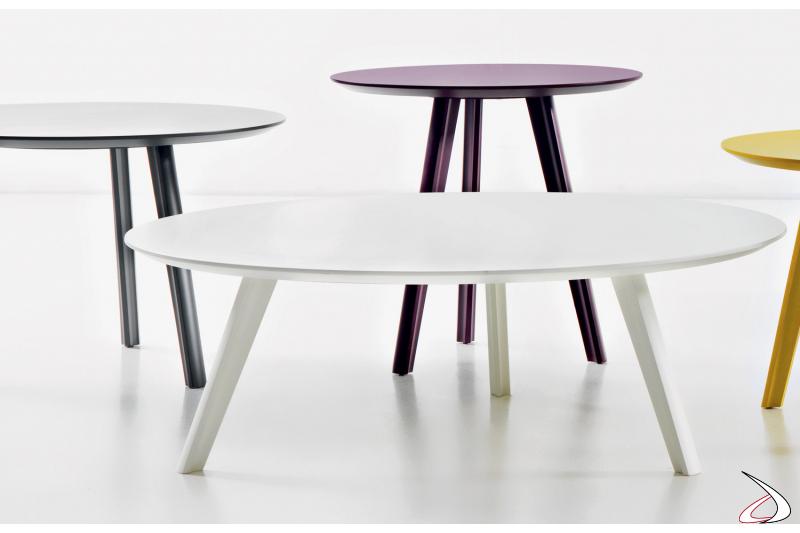 Tavolini moderni per la zona giorno