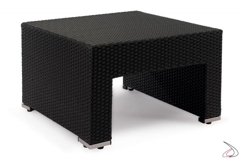 Tavolino da terrazzo colore antracite