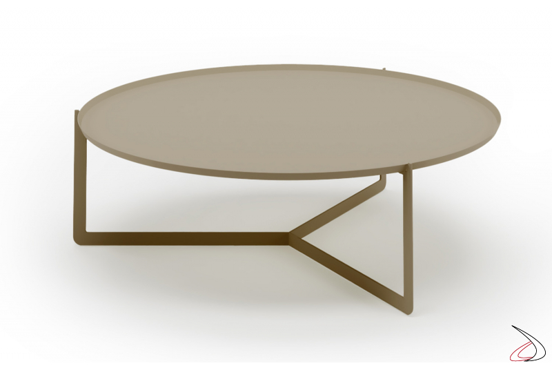 Maxi round coffee table