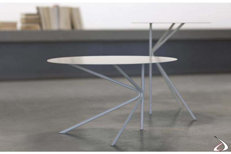Tavolini design in metallo